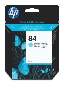 HP 84 Ink 69 ml Light Cyan