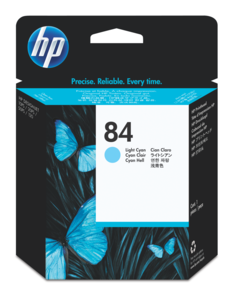 HP 84 Print Head, Light Cyan