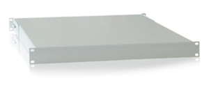 Shelf, 1U, Fixed, Light Grey