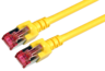 Patch Cable RJ45 S/FTP Cat6 10m Yellow