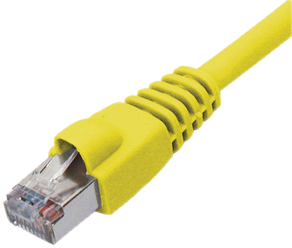 Patch Cable RJ45 SF/UTP Cat5e 10m Yellow