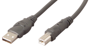 Cable USB 2.0 A/m-B/m 1.8m Grey