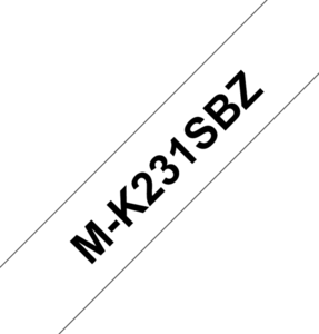 Brother M-K231S Labelling Tape