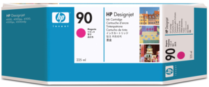 HP 90 Ink 225 ml Magenta