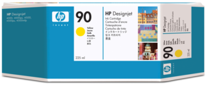 HP 90 Ink 225 ml Yellow