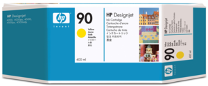 HP 90 Ink 400 ml Yellow