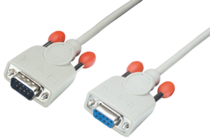 Lindy RS232 Cable DB9m-DB9f 10m