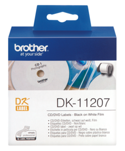 Brother CD/DVD Labels, Ø 58 mm