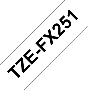 Brother TZe-FX251 Schriftband Flexi-Tape