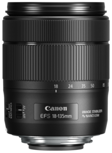Canon Lens EF-S 18-135mm IS USM