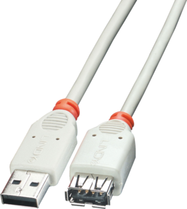 Extension USB 2.0 A/m-A/f 1m
