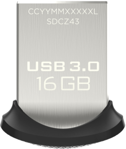 SanDisk Ultra Fit 16 GB USB Stick