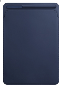 Apple iPad Pro 10.5 Leder Sleeve blau