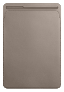 Apple iPad Pro 10.5 Leder Sleeve taupe