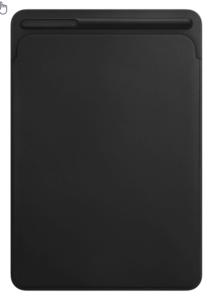 Apple iPad Pro 12.9 Leder Sleeve schwarz
