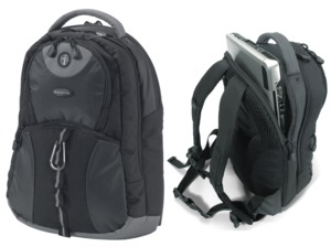 DICOTA Backpack BacPac MissionXL, Black