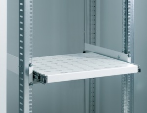 Retractable Shelf, 2U, 400 mm Depth
