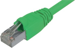 Patch Cable RJ45 S/FTP Cat6 7.5m Green