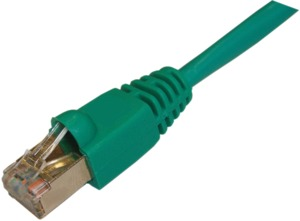Patch Cable RJ45 SF/UTP Cat5e 2m Green