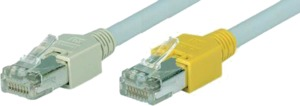 Patch Cable RJ45 (X) SF/UTP Cat5e 0.5m