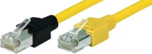 Patch Cable RJ45 (X) SF/UTP Cat5e 0.2m