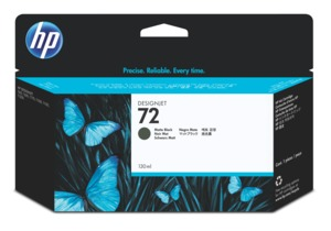 HP 72 Ink 130 ml Matt Black