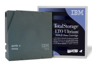 IBM LTO 4 Ultrium Tape