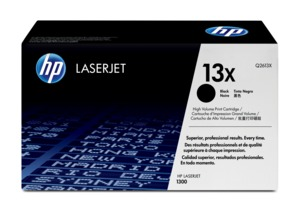 HP 13X Toner Black