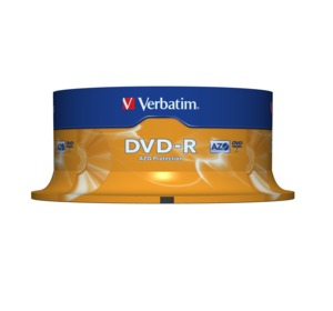 Verbatim DVD-R 4.7 GB 16x SP, 25 Pack