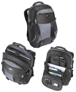 Targus XL Notebook Backpack, Black
