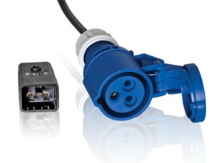 Adapter Cable 1m from IEC60309 to C20