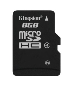 Kingston microSDHC, 8 GB