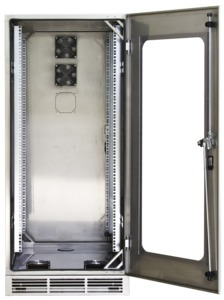 DS CAB Cabinet Stainless Steel 800, 12U