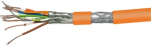 Cat7 Flex. S/STP 500m Orange Cable