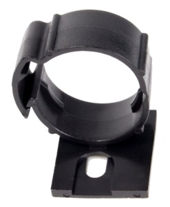 Mounting Clips for Cable Eater 5x Black