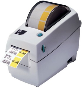 Zebra TLP2824 Plus Ethernet Drucker