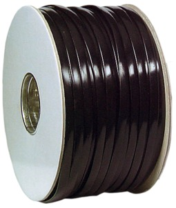 4-wire Flat Cable, 100m Roll, Black