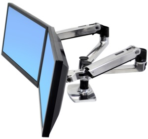 Ergotron LX Mounting Arm for 2 Monitors