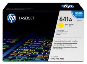HP 641A Toner Yellow