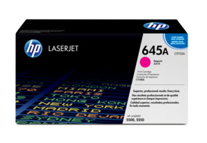 HP Toner 645A, purpurowy
