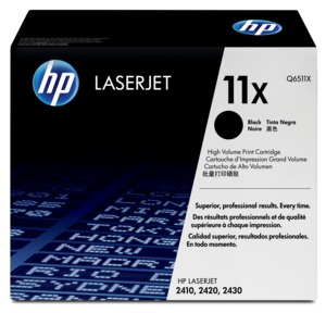 HP 11X Toner Black