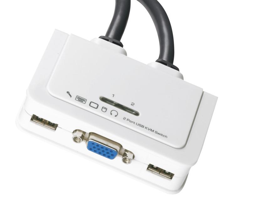 Buy EFB 2-port Cable VGA KVM Switch (EB977)