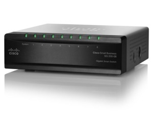 Cisco SB SG200-08P Smart 8xGB/PoE