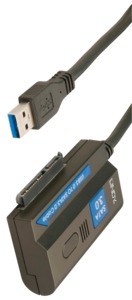USB 3.0 Type A/m to SATA Adapter, 1.0m