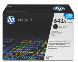 HP 643A Toner Black