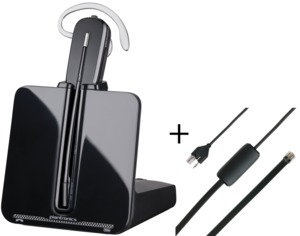 Bundle headset Plantronics CS540 +APS-11