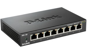 D-Link DGS-108 Gigabit Switch