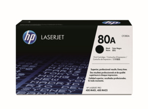 HP 80A Toner Black