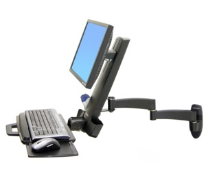Ergotron Combo Arm Series 200, Black