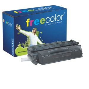 freecolor Q7553X Rebuilt Toner Black